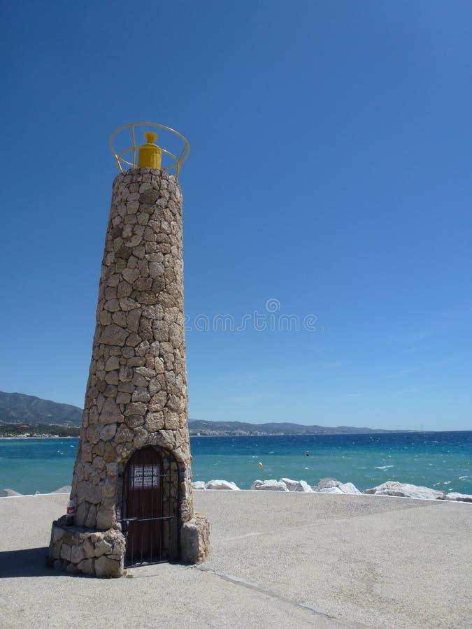Toren in Malaga stock afbeeldingen