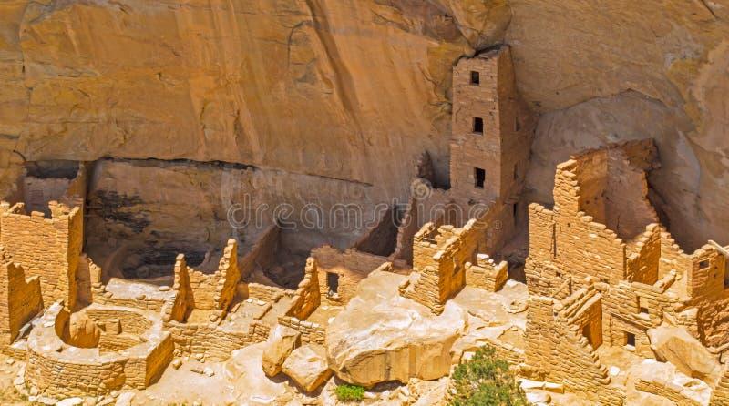 Toren Pueblo royalty-vrije stock afbeeldingen