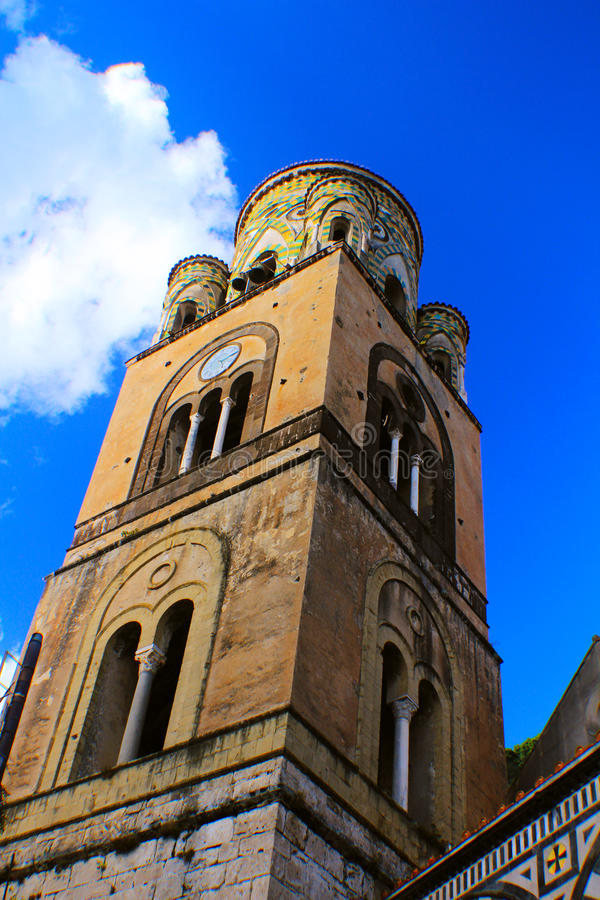 Toren rond Amalfi Kust royalty-vrije stock fotografie
