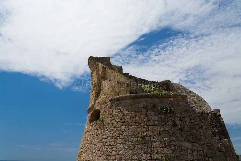Toren in Salento royalty-vrije stock afbeeldingen