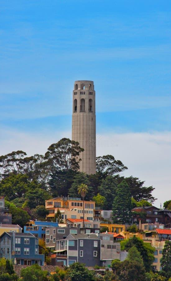 Toren in San Francisco stock afbeelding