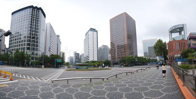 Toren Seoel - Jongno stock afbeelding