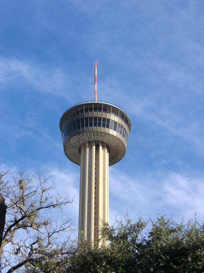 Toren van Amerika in San Antonio, Texas royalty-vrije stock foto's