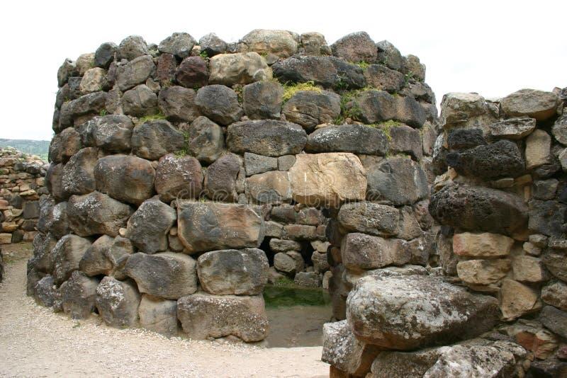 Toren van Barumini Nuraghe stock foto