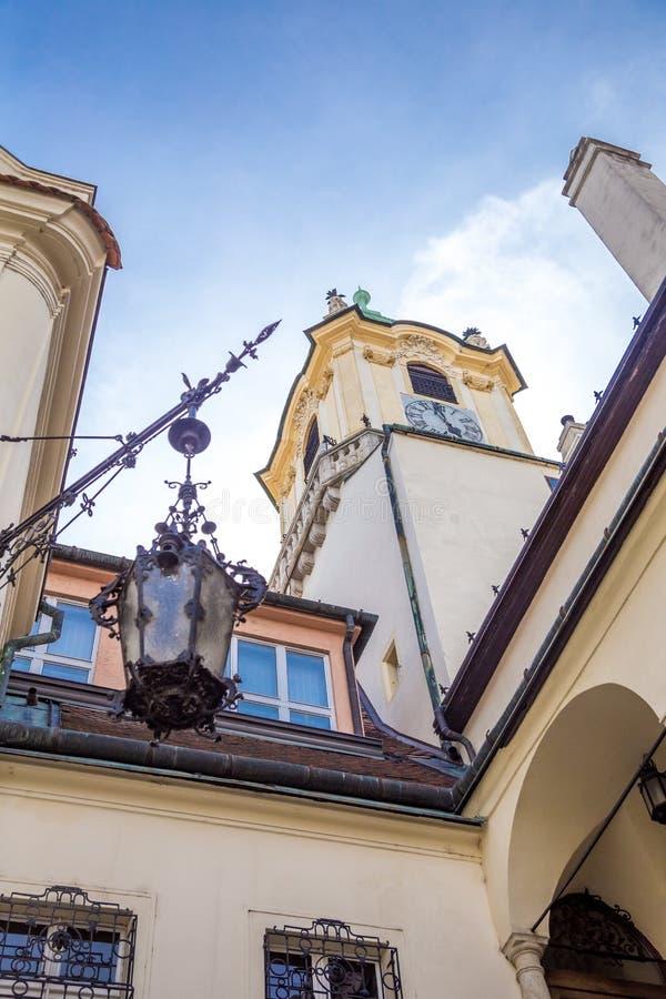 Toren van Bratislava musem royalty-vrije stock foto