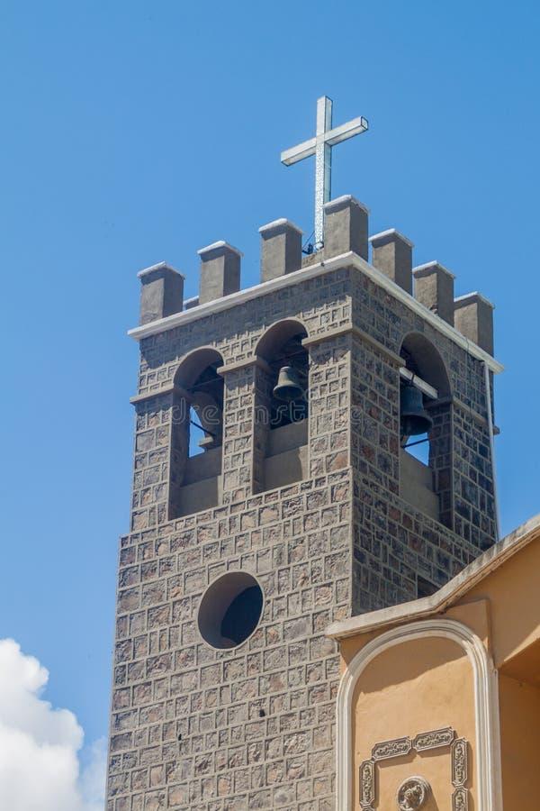 Toren van Catedral San Pedro y San Pablo royalty-vrije stock foto