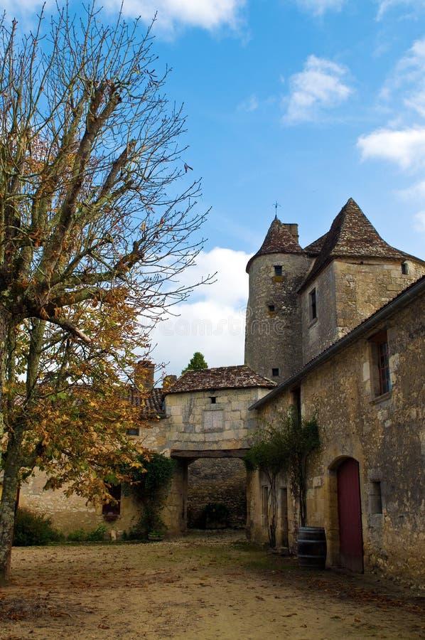Toren van Chateau Michel DE Montaigne stock fotografie