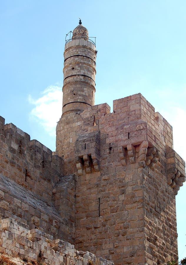 Toren van David royalty-vrije stock foto's