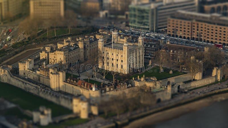Toren van de Antenne van Londen stock afbeeldingen