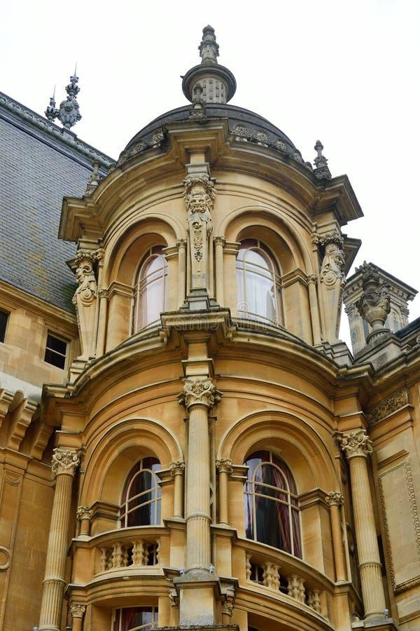 Toren van Frans Chateau-Stijlhuis royalty-vrije stock fotografie