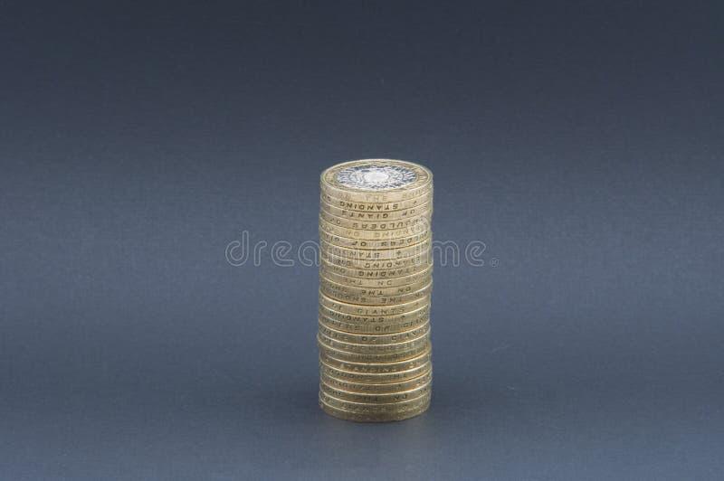 Toren van geld royalty-vrije stock fotografie