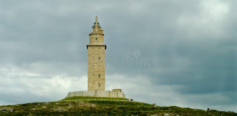 Toren van Hercules royalty-vrije stock foto