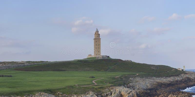 Toren van Hercules royalty-vrije stock fotografie