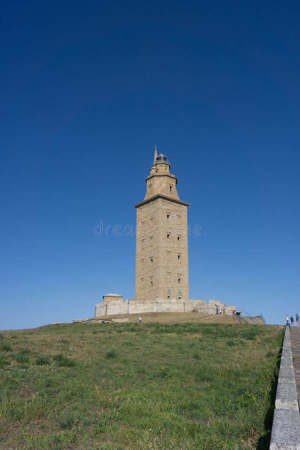 Toren van Hercules royalty-vrije stock foto's