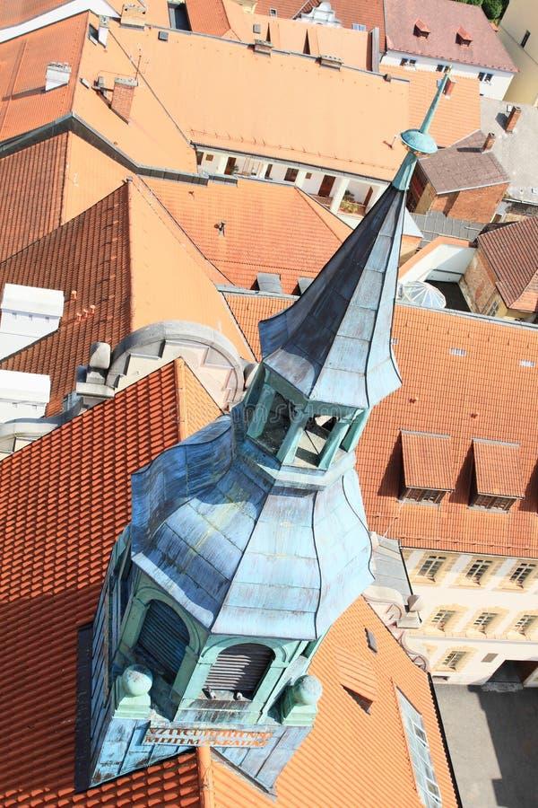 Toren van kerk royalty-vrije stock afbeeldingen