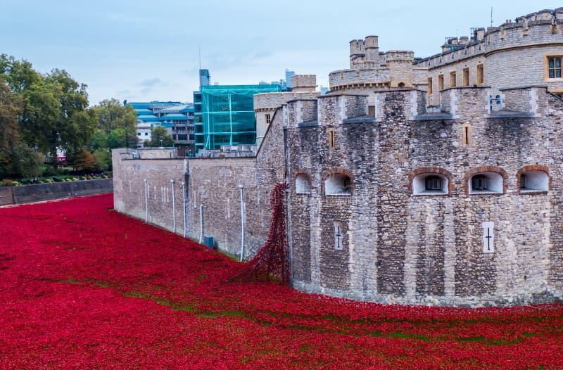 Toren van Londen, Engeland royalty-vrije stock foto