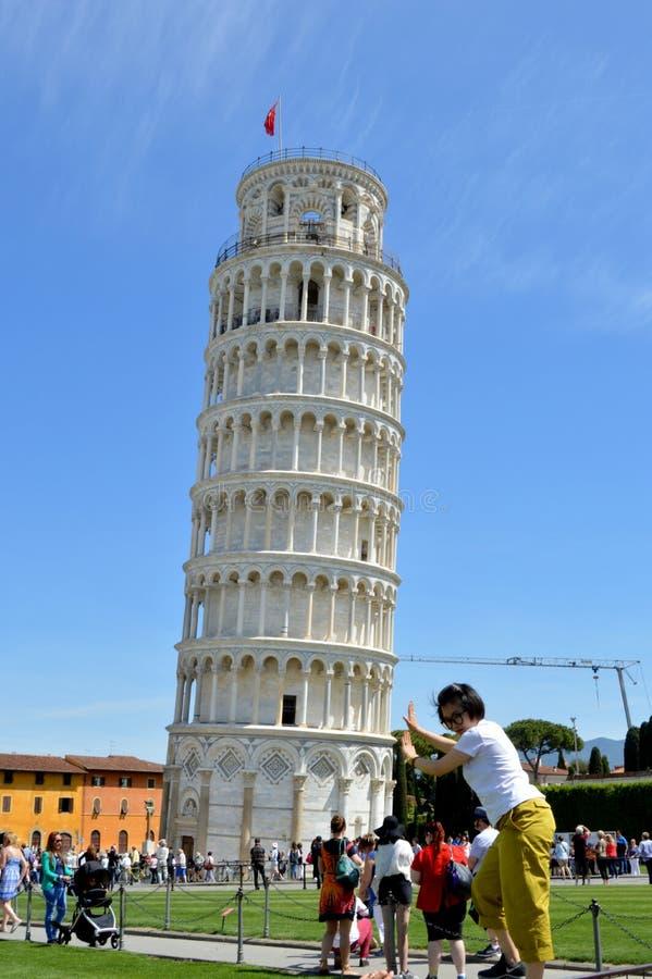 Toren van Pisa royalty-vrije stock foto