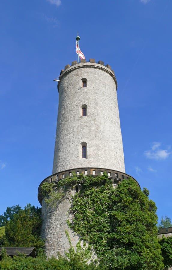 Toren van sparrenburg stock fotografie