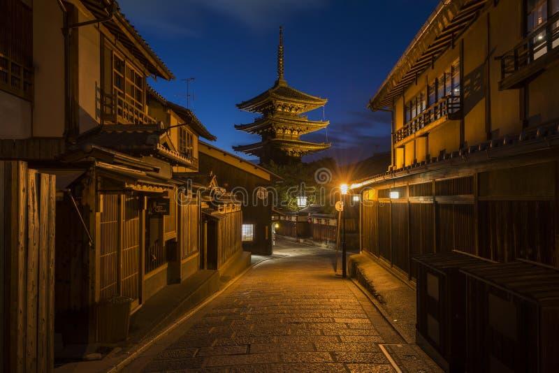 Toren van Yasaka, Hokan -hokan-ji Tempel, Higashiyama, Kyoto, Japan royalty-vrije stock foto