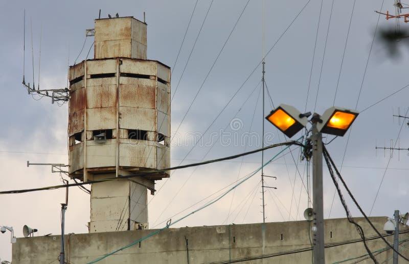 Toren voor mededeling en toezicht stock foto's