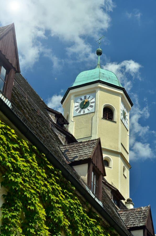 Toren in Weiden, Duitsland stock afbeelding