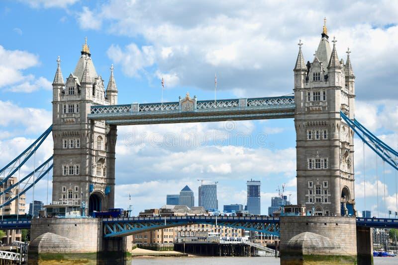 Torenbrug in Londen, Groot-Brittanni? royalty-vrije stock foto's