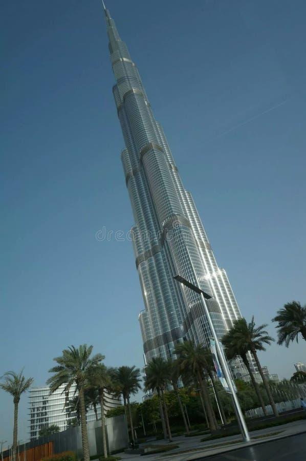 Torenhoge Burj Khalifa stock afbeeldingen