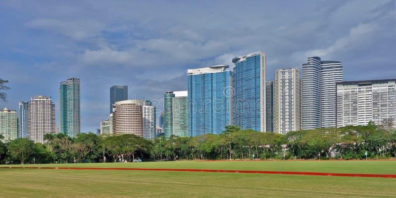Torenhorizon van Fort Bonifacio in Taguig-Stad royalty-vrije stock foto's