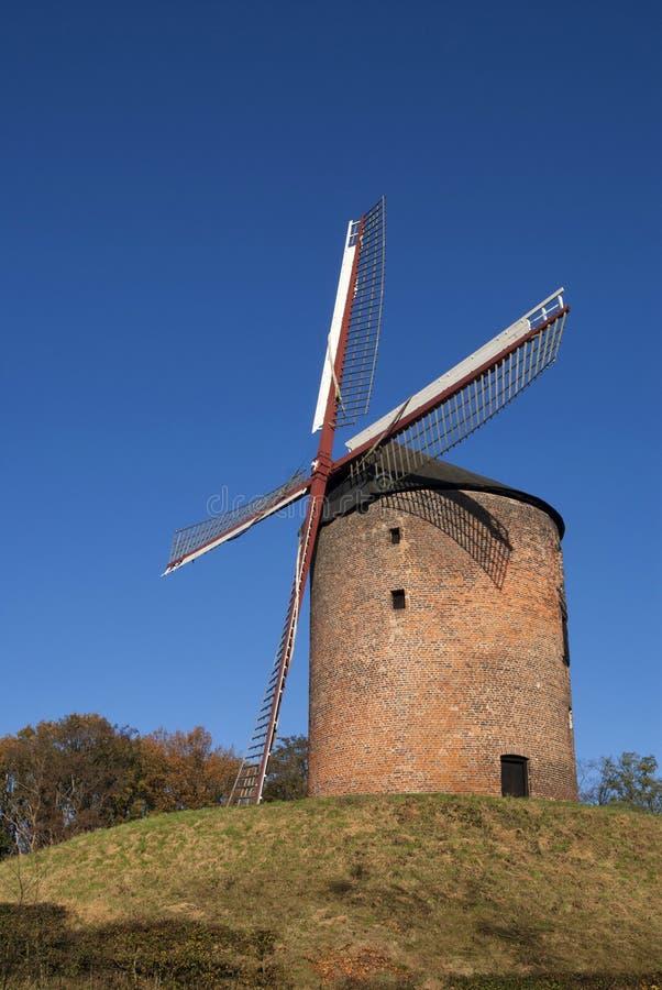 Torenmolen Zeddam stock afbeelding