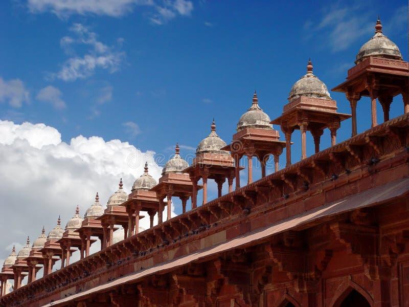 Torens aan grote moskee royalty-vrije stock foto's