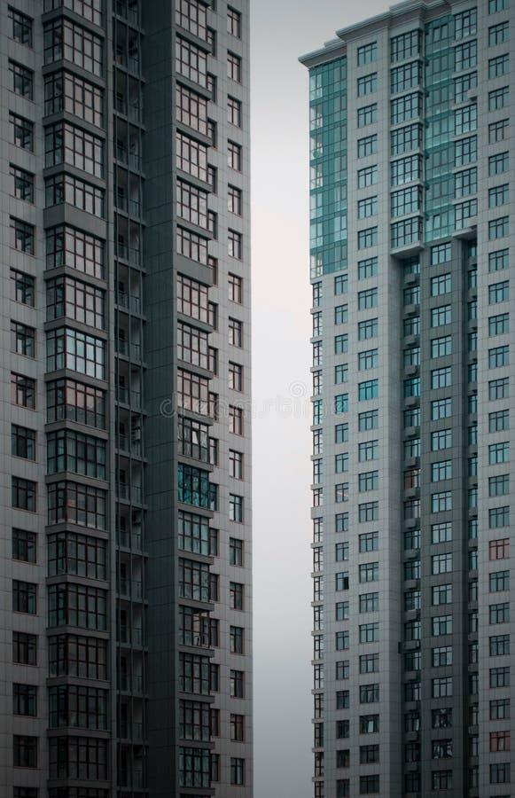 Torens van eenentwintigste stock foto's