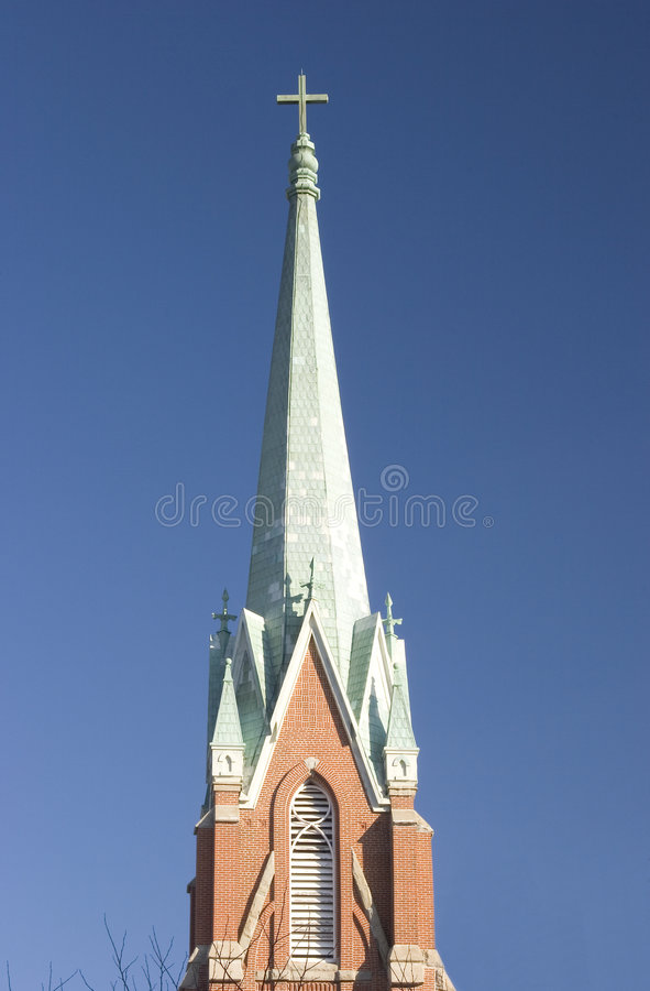 Torenspits royalty-vrije stock foto