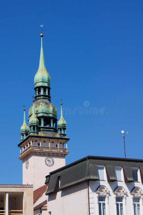 Torenstad Brno in de Tsjechische Republiek royalty-vrije stock afbeeldingen