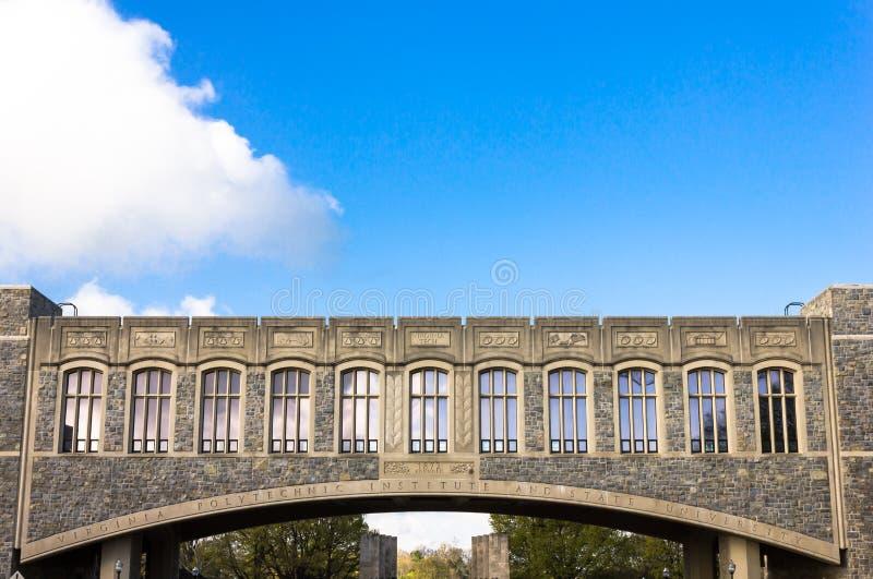Torgersenbrug stock fotografie