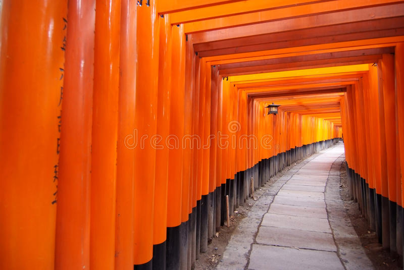Download Tori Gate For Luck Stock Images - Image: 13069554