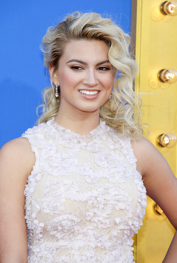 Tori Kelly. At the Los Angeles premiere of `Sing` held at the Microsoft Theater in Los Angeles, USA on December 3, 2016 royalty free stock image