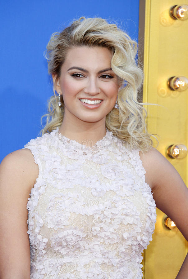 Tori Kelly. At the Los Angeles premiere of `Sing` held at the Microsoft Theater in Los Angeles, USA on December 3, 2016 stock photos