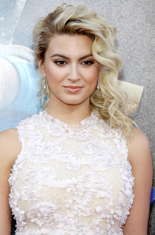 Tori Kelly. At the Los Angeles premiere of `Sing` held at the Microsoft Theater in Los Angeles, USA on December 3, 2016 royalty free stock photos