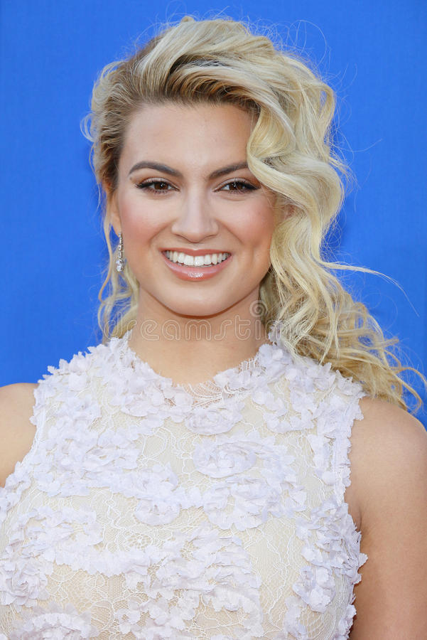 Tori Kelly. At the Los Angeles premiere of `Sing` held at the Microsoft Theater in Los Angeles, USA on December 3, 2016 royalty free stock images