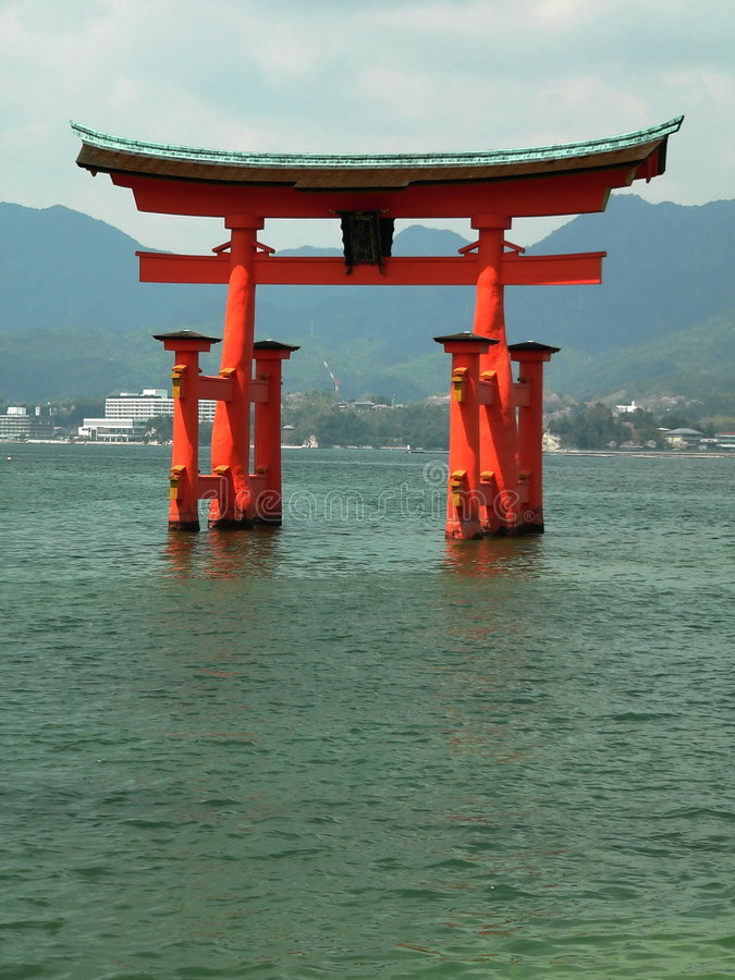 Torii royalty free stock photography