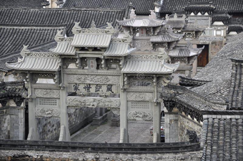 Torii chinois photos libres de droits