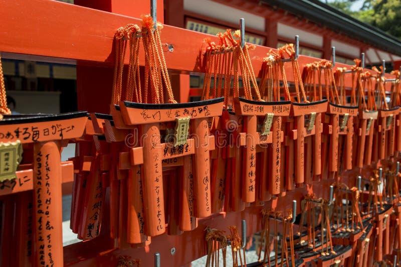 Torii di Fushimi Inari immagini stock libere da diritti