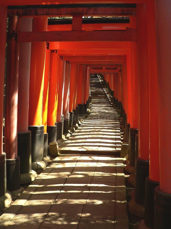 Download Torii At Fushimi Inari Shrine Stock Image - Image: 619791