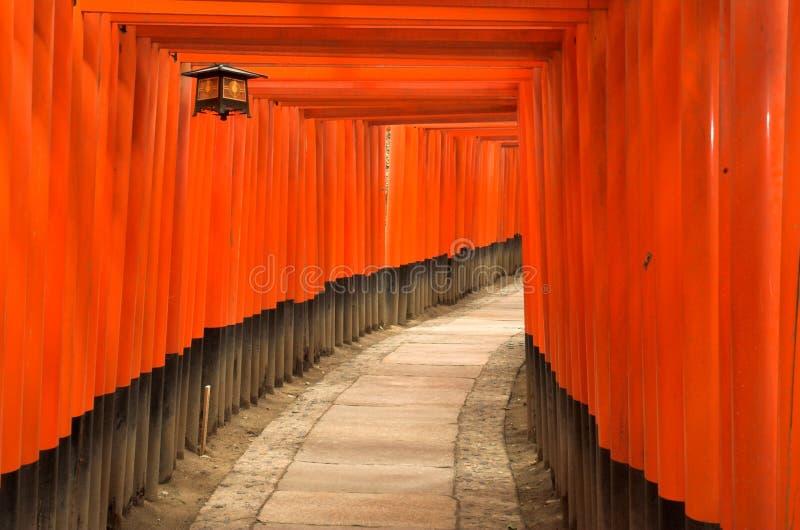 Download Torii Gates Of Fushimi Inari Shrine In Kyoto, Japan Stock Image - Image: 1130543