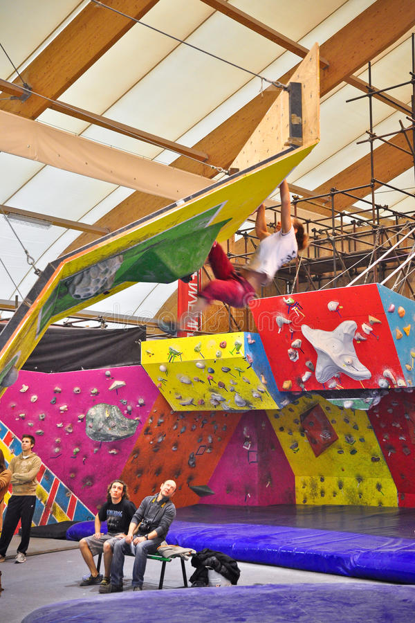 Download Torino Climbing Challenge 2012 Editorial Image - Image of sport, competition: 23049515