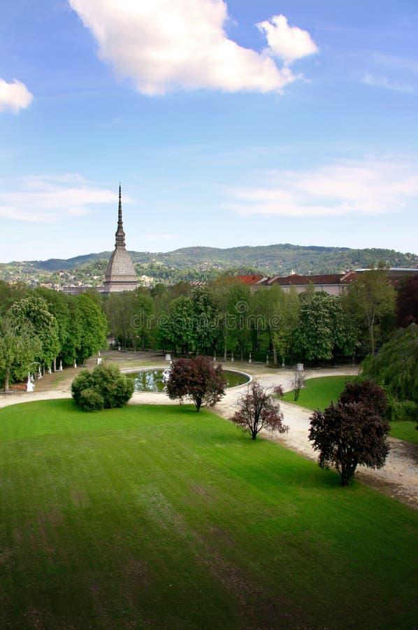 Torino da Royal Palace fotografia stock libera da diritti