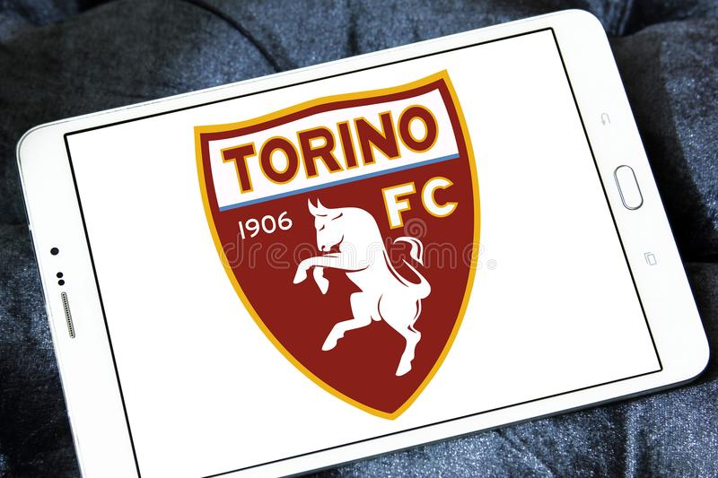 Torino F C Logo de club du football images libres de droits