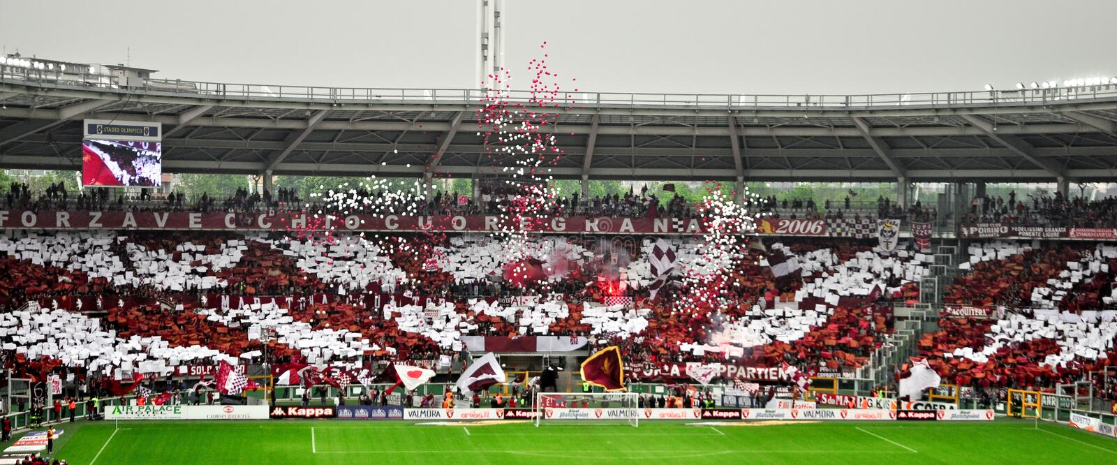 Download Torino Football Club Fans editorial stock photo. Image of 2012 - 24892468
