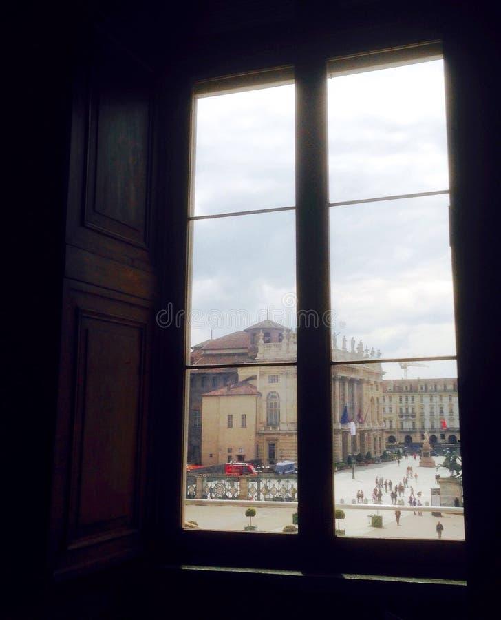 Torino fyrkant arkivbild