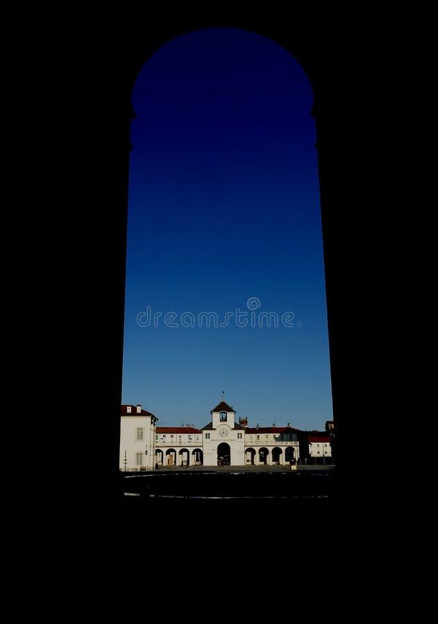 Torino il palazzo reale di Venaria Reale fotografia stock libera da diritti